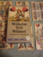 Wilhelm Tell Wilmos Piatnik magyar kártya - Salamon Antal Keczkemet reprint kiadás 1992