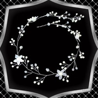 Esküvői, menyasszonyi, alkalmi hajdísz, ES-HD17-60e