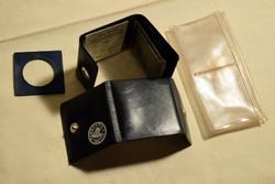 Állami Pénzverő és sima érme gyűtő tokok 1x nyolc darabos Liszt Ferenc 1986 emlékérem tok kétszer