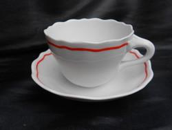 Antik.Különleges formájú, jelzett, Zsolnay teás-kávés csésze.  Hibátlan.