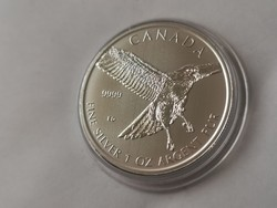 2015 Kanada sas ezüst érme 31,1 gramm 0,999 Ritkább