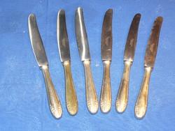 6 db BERNDORF rozsdamentes kés a XX század elejéről