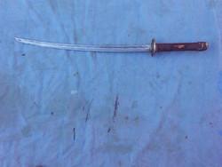 Régi Japán kard.Acél pengével, fa markolat,