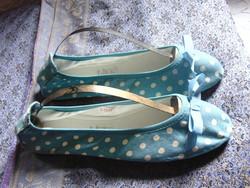 VÉGKIÁRUSÍTÁS !!! Cath Kidston - balerina cipő + AJÁNDÉK!