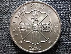 Spanyolország Francisco Franco (1936-1975) .800 ezüst 100 Peseta 1966 1968 (id43045)