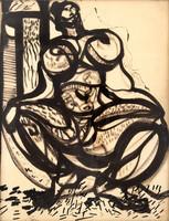 Bán Béla (1909-1972): Akt.