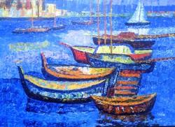 Vén Emil festmény képcsarnokos festmény