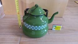 Zománcozott retro teáskanna