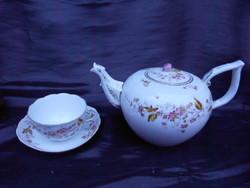 1880-as évek.Antik, Óherendi,herendi  teás csésze,kiöntővel.Hibátlan.