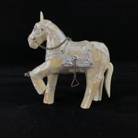 A Régi kínai Kézműves gyöngyház ló - Kína - Ázsia