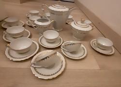 Elegans,12 szemelyes porcelan teaskeszlet