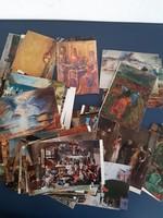 115 darab művészeti képeslap egyben