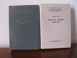 Magyar-német, német -magyar kisszótár
