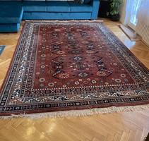 Kézi csomózású, nagy méretű perzsa szőnyeg - Tisztított