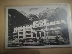 Magastátra Hrebienok régi képeslap