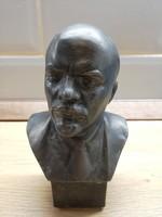 Lenin fém büszt mellszobor figura szobor