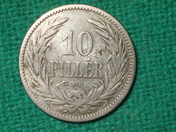 10 Fillér 1893 !
