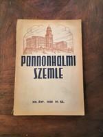Régi 'Pannonhalmi  Szemle' kiadványok