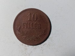 10 fillér 1915 Gyönyörű