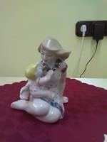 Orosz porcelán figura.