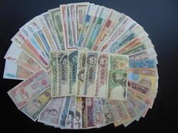 50 darab külföldi bankjegy LOT - MIX !  03