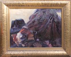 Szentistvány Gyula: Ló és gazdája