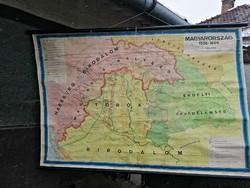 Magyarország 1526-1606 Térkép 170x110cm