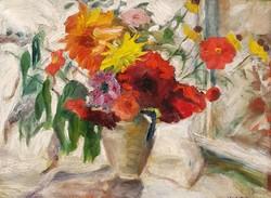 H. Katona jelz. : Virágcsendélet