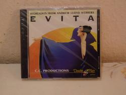 EVITA CD, filmzene ( Új )