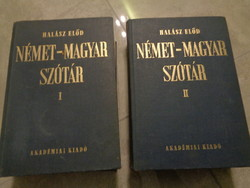Német-magyar szótár I-II.