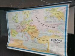 Európa 1815-49 térkép 170x110cm