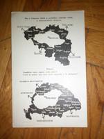 1920 as évek irredenta trianoni béke levelezőlap