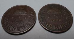 1938-39 1 fillér