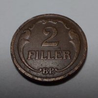 1930 2 fillér