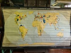 Bányászati iskolai térkép