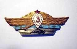 Szovjet katonai jelvény harckocsizó csapatok 3. fok