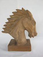 Izsépy Margit  kerámia ló fej