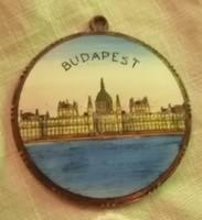 Budapest Parlament régi medál