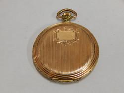 Arany  zsebóra szép és működő állapotban  ( 19,57g arany)