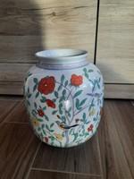 Herendi kínai Oriental Garden mintás váza
