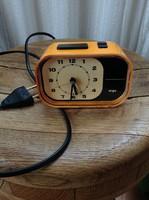 Régi német retro WIGO elektromos ébresztős óra