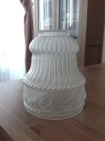 Antik üveg lámpabúra.