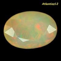 Genuine, 100% natural multi-color Ethiopian noble gemstone 1.15ct (vvs)! Value: HUF 40,300