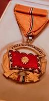 Szocialista katonai kitüntetés
