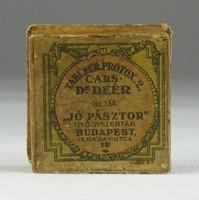 0S867 Antik gyógyszeres doboz papír doboz