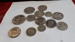 Ezüst  pénzek  ritkák  eladók  egyben vagy külön  egyben 30.000. Ft