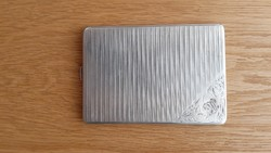 Ezüst cigaretta tárca