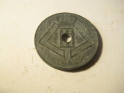 Belgium  10 cantimes  1944  . zink