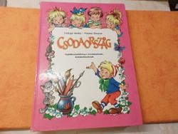 Csörgő Anikó - Füzesi Zsuzsa CSODAORSZÁG  foglalkoztatókönyv óvodásoknak, kisiskolásoknak, 1990