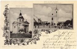 Rohonc, Rechnitz; Szájbely család sírhelye, Főtér, Katolikus templom
